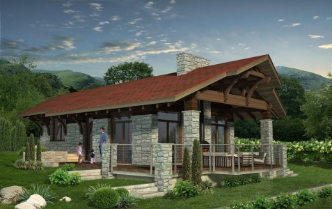 Bungalow,mountain home,