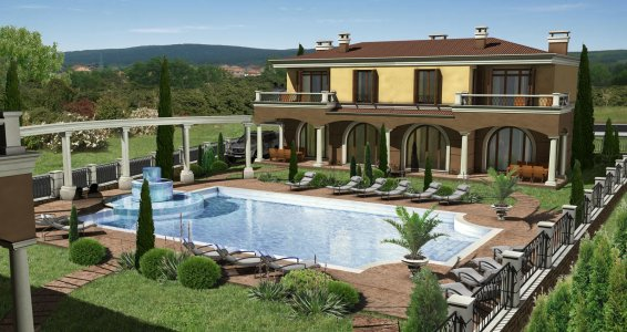 VILLE DI FIRENZE *** Holiday village residence, Hissar, 2009