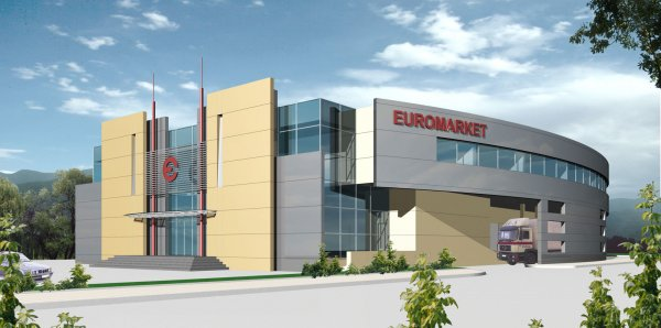 Office Building EUROMARKET - competition, Sofia, Mladost, 2000