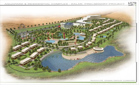 AQUAPARK, RESIDENTIAL COMPLEX, HOTEL AND MALL