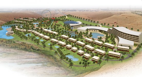 AQUAPARK, RESIDENTIAL COMPLEX, HOTEL AND MALL , Kalar, Iraq, 2012