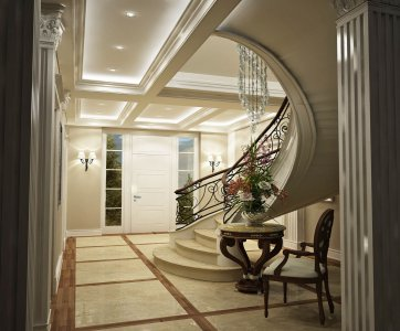 Classic home interior,luxury home,home